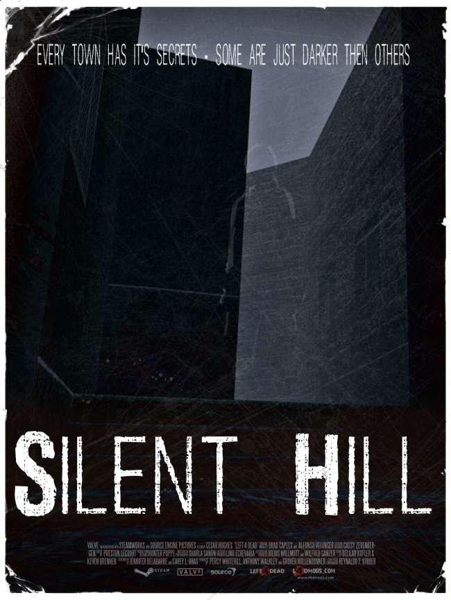 silent hill town map