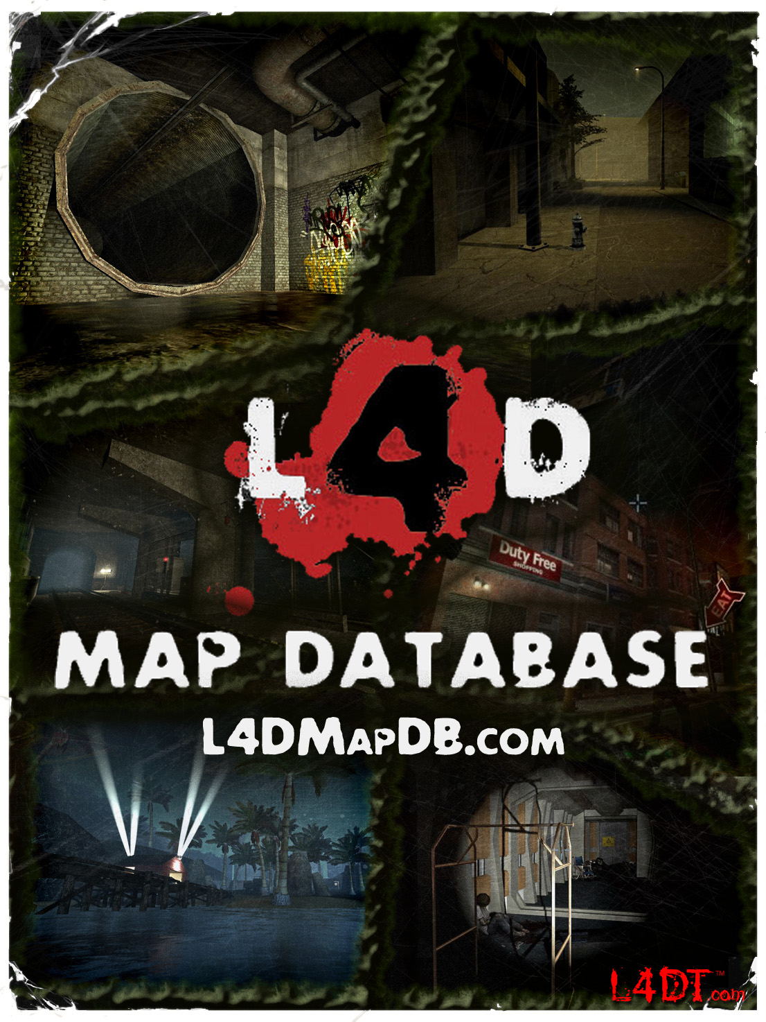 L4d Maps Cool Maps, - World Map Database L D Maps on